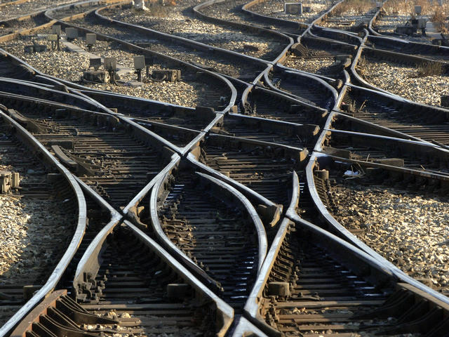 train tracks, travel, poem,