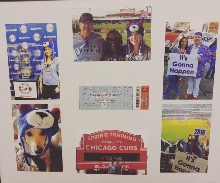 cubs, world series, Chicago, collage