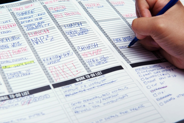 planner, calendar