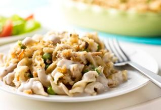 tuna noodle casserole, easy dinners