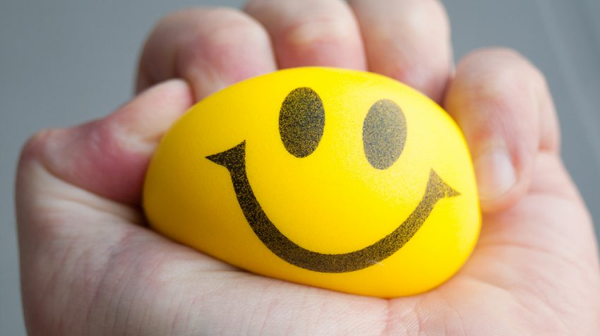 happy, stress, stress ball, work