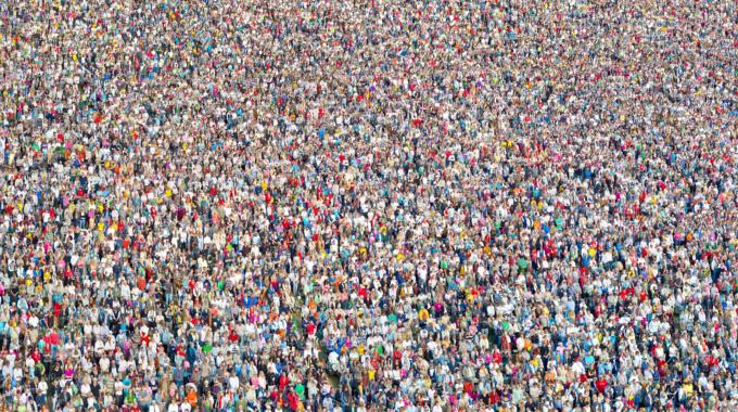 crowds, people, virus